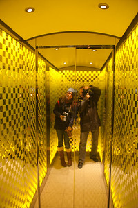 Elevator at One Aldwych Hotel