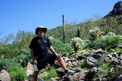 Michael in McDowell Sonoran Preserve